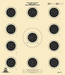 Official Nra Small Bore Rifle Targets Long Gun Shooting Targets