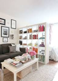 decorating tips for apartments. Studio Apartment With Divider And Framed Wall Arts : Decorating Tips For Apartments E