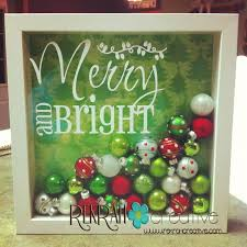 Merry-and-Bright Shadow Box Tutorial Note! She shows three different ideas  for these Christmas Shadow Boxes.