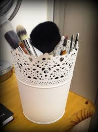 photo 13 photo 13 photo 13 photo 13 pretty makeup brush storage idea planters from ikea