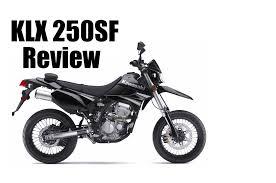 klx250sf full review supermoto youtube