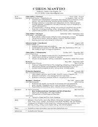 Alluring Online News Editor Resume With 100 Sample Resume For