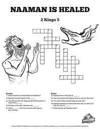 naaman the leper 2 kings 5 sunday crossword puzzles the amazing story of naaman the leper is packed full of details make sure your kids remember