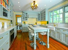 yellow country kitchens. Blue And Yellow Kitchen Themes Yellow Country Kitchens I