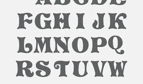 Cool Letters Stencils Fancy Letters Alphabet Stencils Printable Www Bilderbeste Com