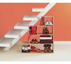 under stairs furniture. HOME Understairs Shoe Storage Unit - Beech Effect Under Stairs Furniture A