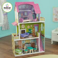 Kidkraft Bedroom Furniture Kidkraft Florence Wooden Dollhouse With 10 Pieces Of Furniture