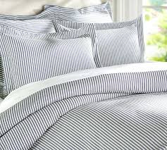 grey white stripe duvet cover blue white striped duvet covers by bedding hover to zoom blue