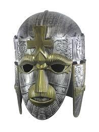 Roman Spartan Sutton Hoo Crusader Knight Helmet Mask Medieval Costume Armor