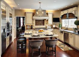 Wonderful Eat In Kitchen Design Ideas And Designing A Kitchen Layout As Well As Your  Pleasant Kitchen Along With Artistic Design And Well Chosen Embellishments  24 ... Pictures Gallery