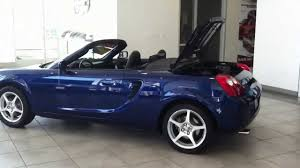 Toyota MR2 Spyder convertible low miles for sale - YouTube