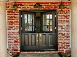 white front door inside. Inside Front Door Painted Black Classic Styled 34 Fiberglass Double Dutch Entry Doors With Half Glass 9 Lite Clear Color White House