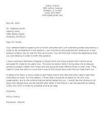 Advocacy Letter Template Advocate Cover Letter Zoroblaszczakco ...