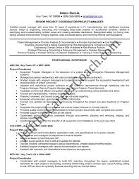 Download The Project Coordinator Resume Sample One In Pdf