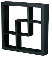 box wall shelves black cube bookshelf floating ikea diy white
