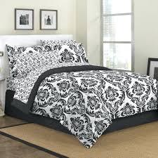 black and white damask duvet bedding