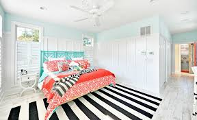 how to enhance a d cor with black and white striped rug in red idea 18