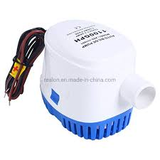 China Micro Sea Water Pump 12V <b>1100gph Automatic Bilge</b> Pumps ...