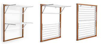 wooden laundry drying rack klapp 2