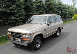 SURVIVOR with 9047 Miles - 1988 Toyota Land Cruiser FJ62