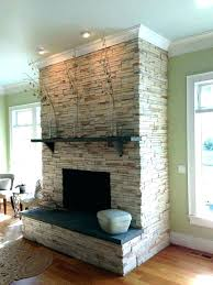 refacing a brick fireplace with stone veneer reface brick fireplace news