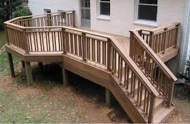 image of deck railing plans