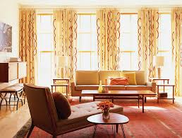 Mid Century Modern Design Ideas View In Gallery Decor With Crisp Clean Lines And The Patterned Drapes Give The Room A Midcentury Modern