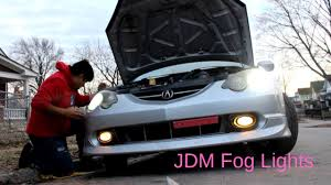 2003 Rsx Fog Lights How To Install Fog Lights On Acura Rsx Youtube