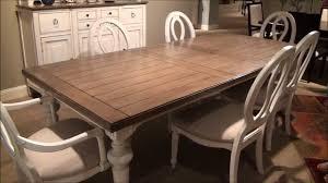 universal dining room set summer hill rectangular leg in driftwood cotton by ideas maxresdefault