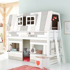 Hang Out Room Ideas Kids Hangout Mid Sleeper Bed With Play Area Cool Kids Bed Ideas