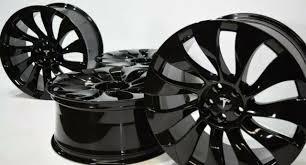 The tesla model y is an electric compact crossover utility vehicle (cuv) by tesla, inc. 21 Tesla Model Y 21 Inch Uberturbine Wheels Lug Nut Covers Set Of 4 Oem 2020 For Sale Online Ebay