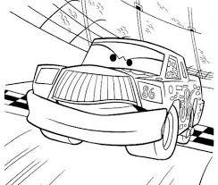 Disegno Di Chick Hicks La Macchina Di Cars Da Stampare E Colorare