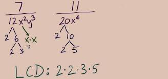 how to find least common multiple in rational expressions math wonderhowto