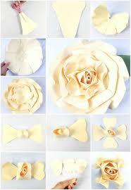 Diy Giant Paper Rose Flower Giant Paper Rose Tutorial Majesty Style Rose Abbi Kirsten