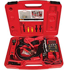 amazon com power probe ppkit03 master test kit automotive Flex It Tens Unit Probe Wire Harness power probe pprokit01 red professional testing electrical kit