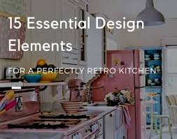 Retro Kitchen Blog Articles Retro 1950s Style Kitchen Big Chill