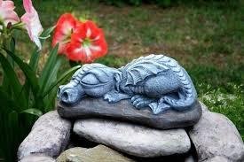 dragon garden dragon statue