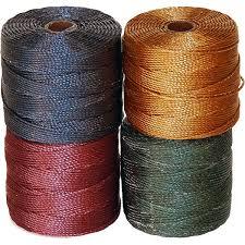 Superlon Thread Size Chart Super Lon Thread Jewelry Supplies Rings Things