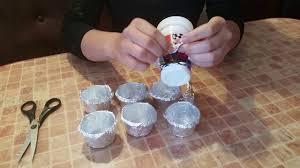 Формочки для кексов из фольги. - YouTube
