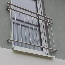 Montage Der Brüstungsgeländer Frz Balkon In Eigenleistung