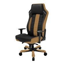 luxury office chair. black u0026 tan classic series dxracer luxury office chair ohce120nc gamers