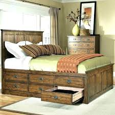 queen platform bed frame with storage – laviemini.com