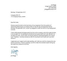 example letter of resignation how to write a resignation letter formatting tips sample