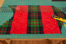 Tartan Tango | This Thing & After completing the quilt ... Adamdwight.com