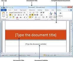 Templates In Ms Word 2010 Template Word 2010 Rome Fontanacountryinn Com
