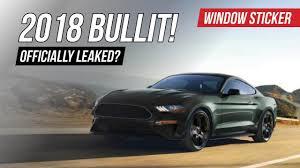 2018 mustang bullitt. Exellent 2018 2018 Bullitt Mustang OFFICIALLY Unofficially LEAKED Inside