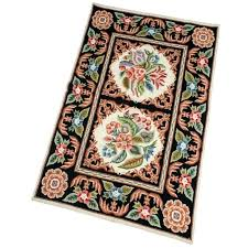 french country style area rugs rug handmade needlepoint ideas inspire