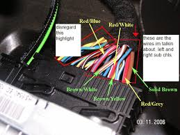 bmw i wiring diagram wiring diagrams online adding an amp sub to 335i