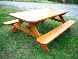 bedroom cute picnic bench home depot 31 table kit lifetime plastic tables octagon wood within bedroom cute picnic bench