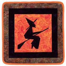 "Halloween quilts: patterns free to download (if you dare) - Stitch ... & Paper-Pieced Witch quilt "" Adamdwight.com"